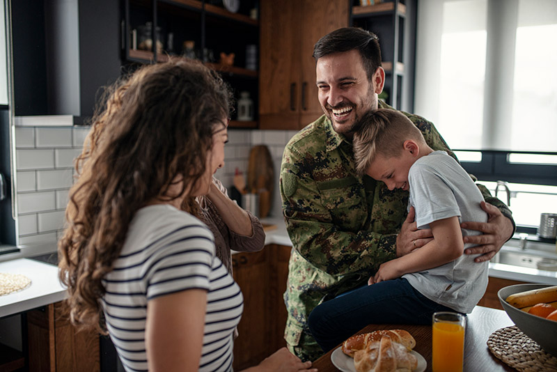 How it works: military family