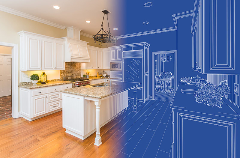 Proven Strategies to Help You Buy Your Property: blue-print of house